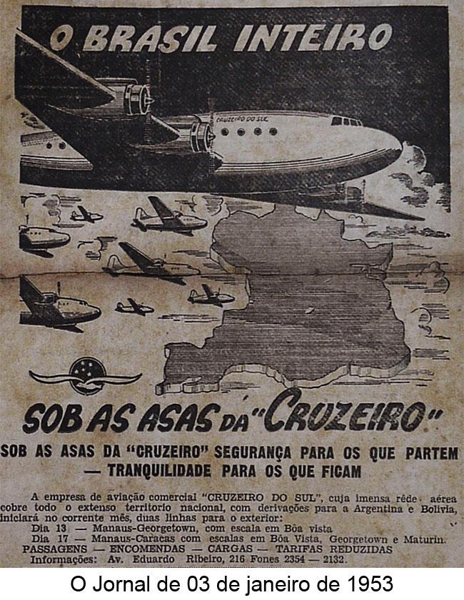 O Jornal de 3 de janeiro de 1953