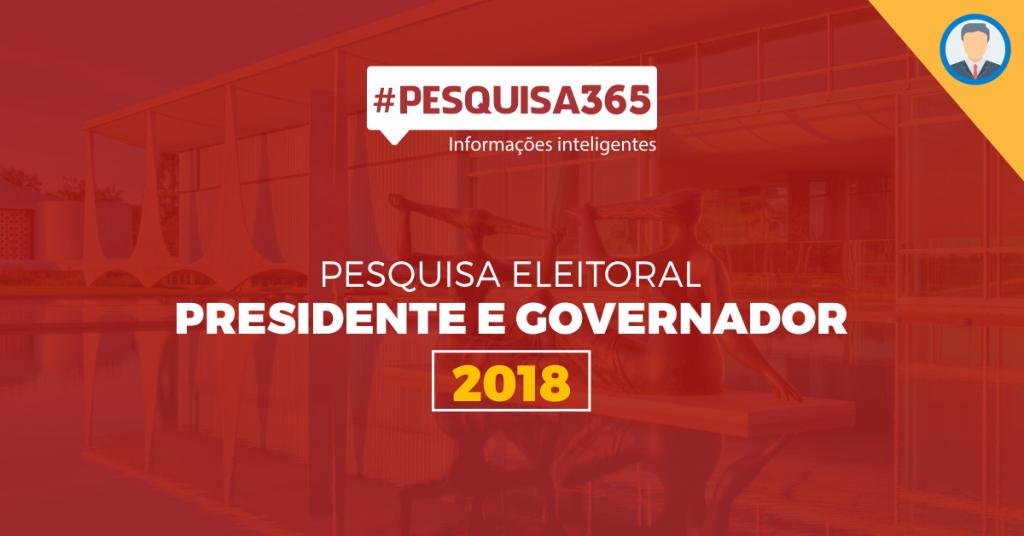 Pesquisa Eleições 2018 - Presidente e Governador - Durango Duarte