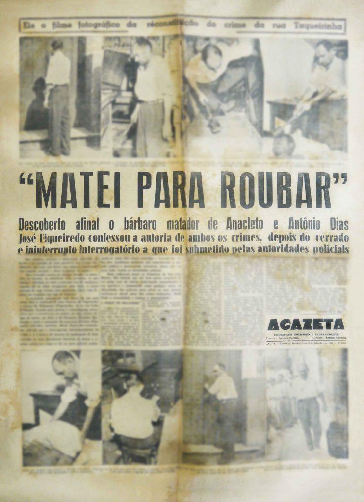 Durango Duarte - José Osterne de Figueiredo: um grande azarado ou um assassino em série? (Parte III)