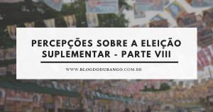 Durango Duarte - A vitória dos ausentes, dos insatisfeitos e dos esgotados é um excelente sinal para a carcomida elite política