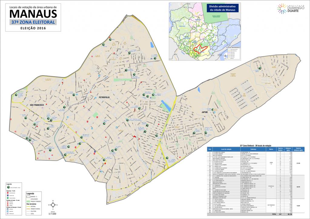 mapa-manaus-37a-zona-eleitoral-2016