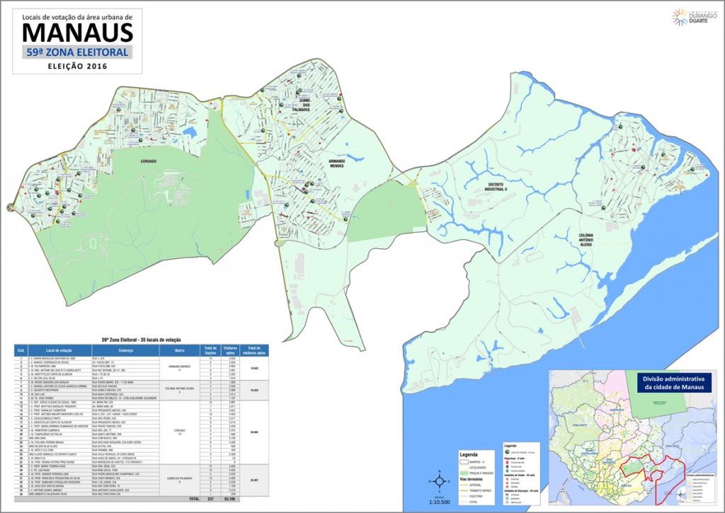 mapa-manaus-59a-zona-eleitoral-2016