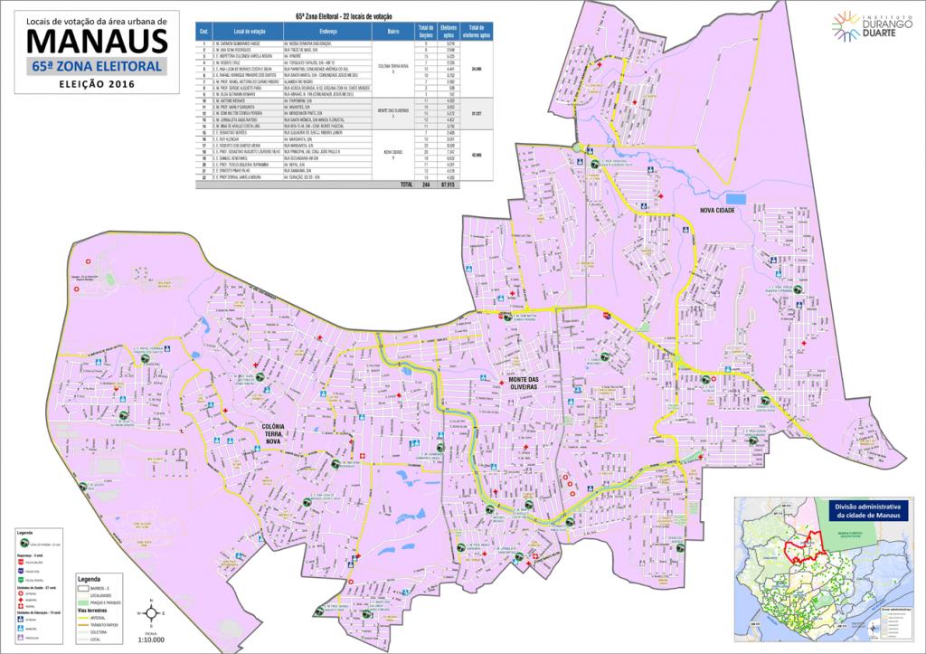 mapa-manaus-65a-zona-eleitoral-2016