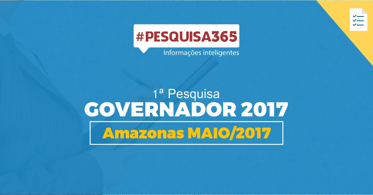 Durango Duarte - 1ª Pesquisa Governador 2017
